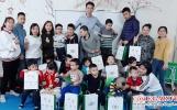 Cốm Egaruta tặng quà tết cho trẻ tăng động tại trung tâm An Phúc Thành