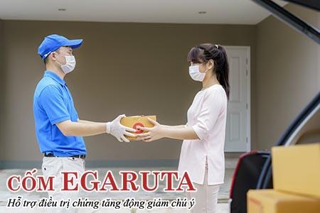 Cốm Egaruta đảm bảo sự an toàn trong quá trình giao nhận sản phẩm cho phụ huynh