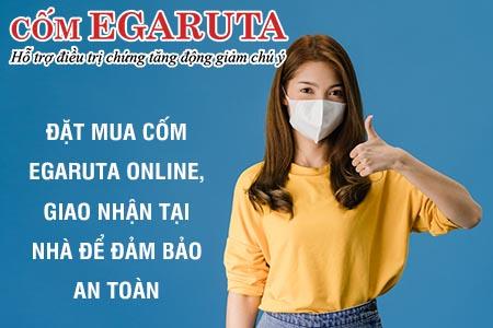 Nên đặt mua cốm Egaruta online, giao hàng tận nhà để đảm bảo an toàn trong mùa dịch
